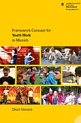 Titelbild der Broschüre: Framework Concept for Youth Work in Munich