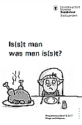 Titelbild der Broschüre: Pflegeelternrundbrief II/2017<br>Is(s)t man